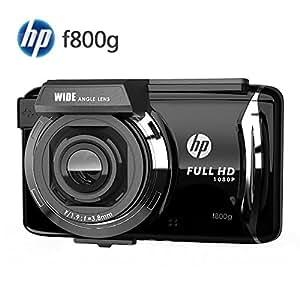 ヒューレット・パッカード HP f800g ドライブレコーダー/GPS搭載・高画質500万画素 FULL HD 1080P、広画角140° F1.9レンズ、2.7インチTFT LCD タッチパネル、常時録画、WDR+Gセンサー、動体感知、臨時駐車監視モード、日本語メニュー対応、メーカー製品保証1年[並行輸入品] [並行輸入品]