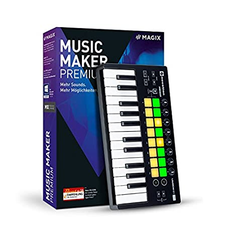 MAGIX Music Maker 2017 Performer (PC)