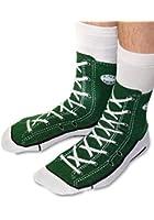 Sneaker Socken - Silly Sock - grün