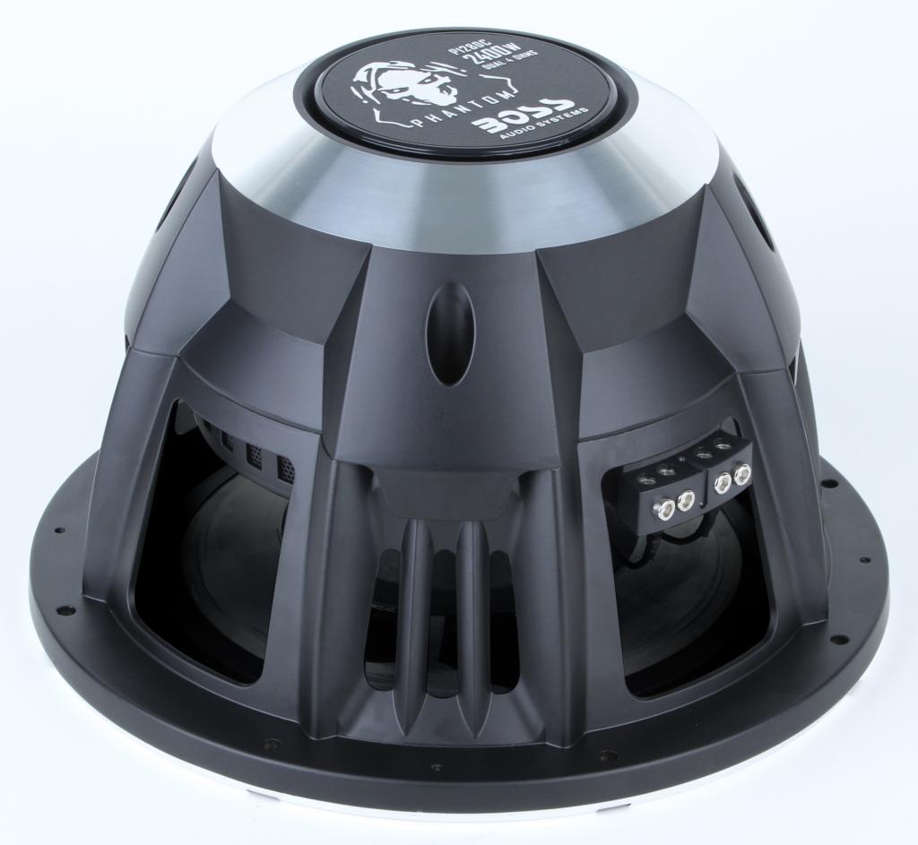 boss audio p128dc phantom 12 inch 2400 watt. Black Bedroom Furniture Sets. Home Design Ideas