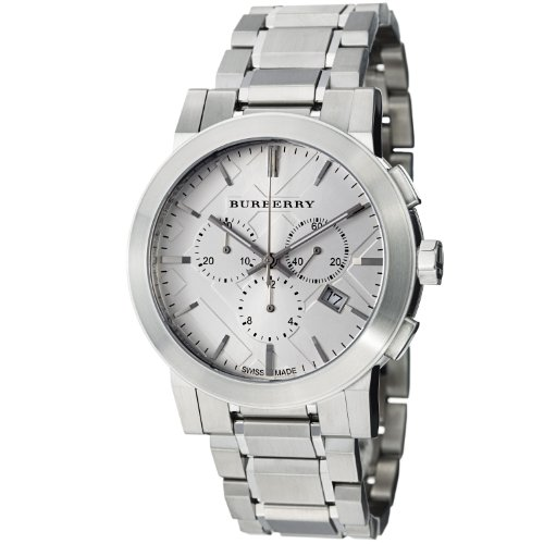 Burberry Women's BU9350 Large Check Stainless Steel Bracelet Watch