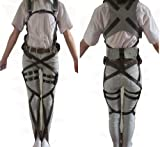 Rulercosplay Attack on Titan Leather Belts Cosplay Harnesses Deluxe Ver. (S/L)