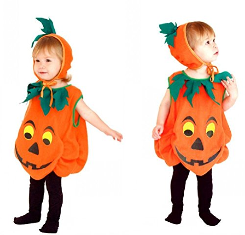 Purplebox Children'S Halloween Costumes Pumpkin Clothes Children