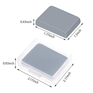 Drawing Art Kneaded Rubber Erasers Large Size Grey Sntieecr 4 Pack Kneaded Erasers