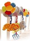 Happy Cherry 超かわいい ベビーベッドハンギング 人形 ベビーキッズベアー装飾おもちゃ エレファント カラフル 出産 誕生日 プレゼント 音楽 ブルー