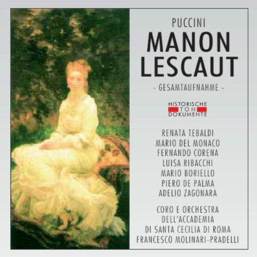 Manon Lescaut - Puccini - CD