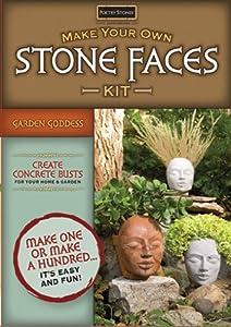 Magnetic Poetry Garden Goddess Stone Faces