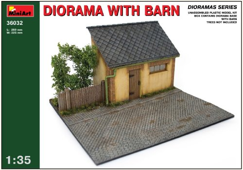 Buy Low Price Dragon Models MiniArt 1/35 Barn Diorama Base with Bonus Figure Set by Dragon Models (B002L2QB9O)