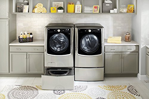 LG TurboWash Series Power Pair Special-Mega Capacity Laundry System with Twin Wash SideKick Pedestal Washer and ELECTRIC Dryer Graphite Steel (Lg Dryer Combo compare prices)