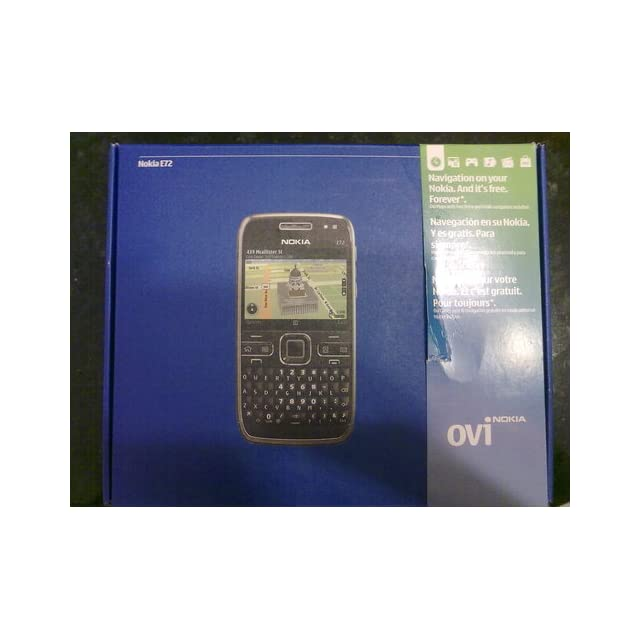 Nokia E72 Unlocked Phone Featuring GPS with Voice Navigation   U.S. Version with Full Warranty (Zodium Black)
