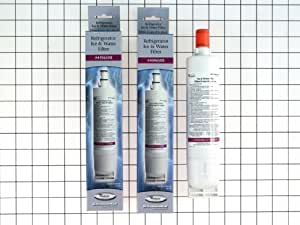 Whirlpool 4396508P KitchenAid Maytag Side-by-Side Refrigerator Water Filter, 2-Pack