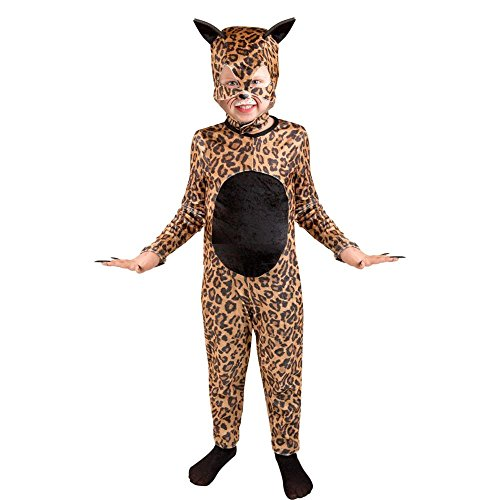 Child's Cheetah Cat Girl Halloween Costume (Size: Small 6-8)
