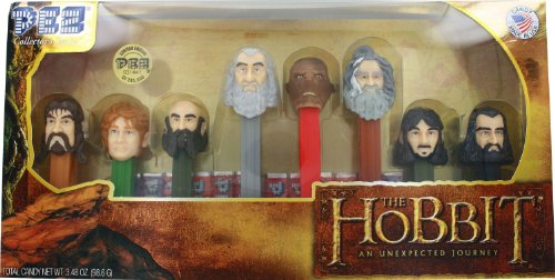 PEZ Gift Set, The Hobbit, 3.48 Ounce