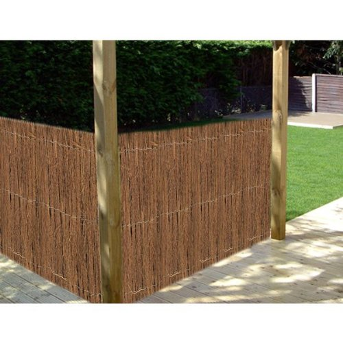 2m x 3m WILLOW SCREENING OUTDOOR GARDEN FENCING DECORATION SCREEN FENCE