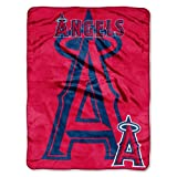 MLB Los Angeles Angels Triple Play Micro Raschel Throw Blanket, 46x60-Inch at Amazon.com