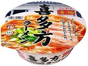 ニュータッチ 凄麺 喜多方ラーメン 114g×12個