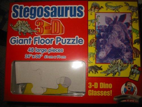 Cheap Frank Schaffer Stegosaurus 3-D Giant Floor Puzzle (B003ZT0AY4)