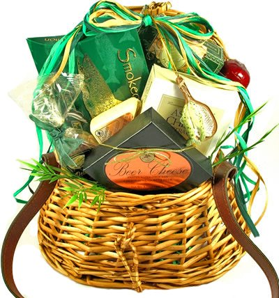 Fish Whisperer Fishing Gift Basket