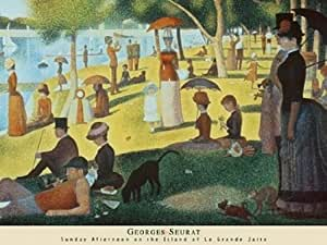 Sunday Afternoon On La Grande Jatte - Poster by Georges Seurat (32 x 24)