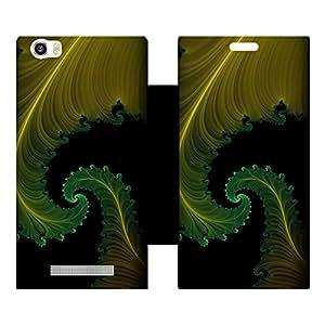 Phone Candy Designer Flip Cover with hi-res printed Vinyl sticker wrap-around for Lava Iris X10