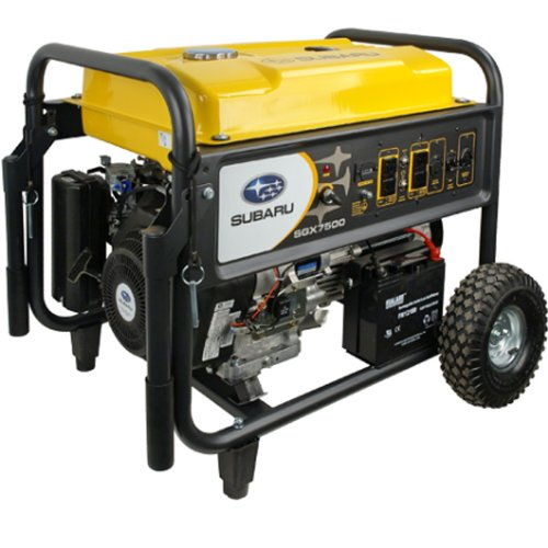 Subaru SGX7500E 14 HP Gas Powered Commercial Generator, 7500W Subaru B00HZCFZ0G