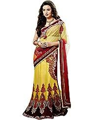 CSE Bazaar Women Indian Beautiful Fancy Party Wear Traditional Wedding Saree Sari - B00SO6L8US