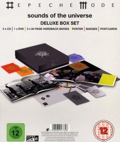 Sounds of the Universe Deluxe Box Set (3 CDs/DVD/2 Books) Box set, Extra tracks Edition by Depeche Mode (2009) Audio CD