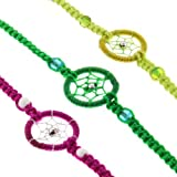 Dream Catcher Friendship Bracelets Pack Of 10 Units Gifts Schools Teams Wholesale