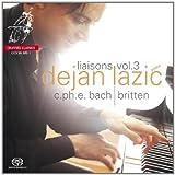echange, troc  - Liaisons vol.3 : Sonates (CPE Bach), Valses op.3, Holyday Diary op.5 & Night Piece (Britten)
