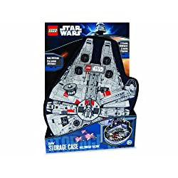 [Best price] Kids&#039 - LEGO Star Wars ZipBin Millennium Falcon Minifigure Case - toys-games
