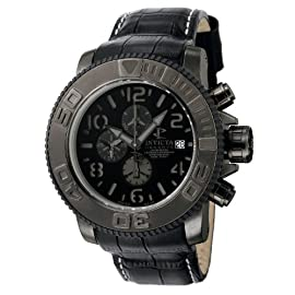 Invicta Mens Reserve Sea Hunter Swiss Limited Valgranges Automatic Chronograph Watch 0604