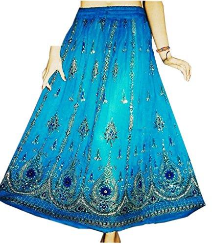 jnb-falda-para-mujer-turquesa-terquoise-talla-unica