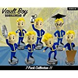 Fallout 3 Vault Boy Bobblehead Set of 7 Figures - Series 2 Bobble Head