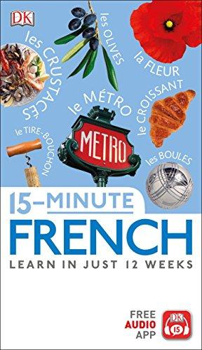 15-Minute French [DK] (Tapa Blanda)