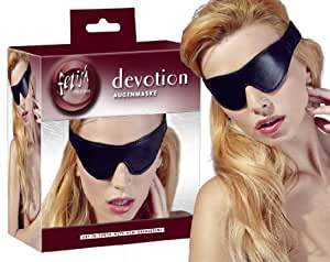 fetish collection  Lederimitat Augenmaske, 1 Stück