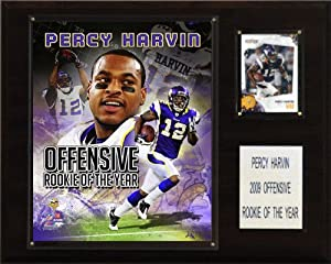 NFL Percy Harvin Rookie of the Year Minnesota Vikings Player Plaque by C&I Collectables
