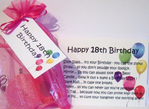 18th BIRTHDAY SURVIVAL KIT PINK