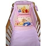 Disney Winnie the Pooh Bedtime Crib Bedding Set Pink