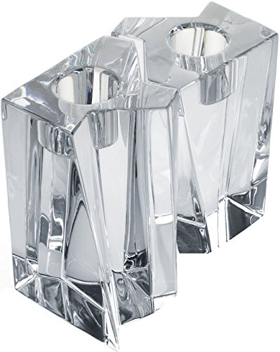 Orrefors Klone Candleholder Square 2-pack