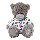 Me to You 6-inch Tatty Teddy Bear Wearing a Cute Onesie with Ice Cream Print (Grey)