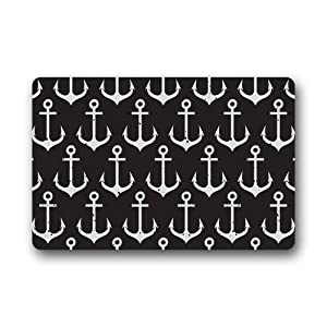 Fashion decorative door mat custom retro for Decorative door mats indoor