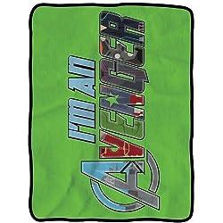 Avengers I'm an Avenger Fleece Throw Blanket