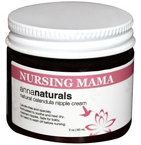 Anna Naturals Nursing Mama Nipple Cream Organic Balm, 2 oz (Anna Naturals compare prices)