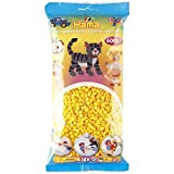 Malte Haaning Plastic A/S Hama Fuse Beads (6000-Piece, Yellow) (Color: Yellow)