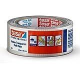 tesa 4665 Clear Transparent Gaffer Duct Tape, 48 mm x 25 m