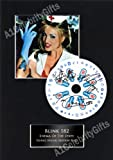 Blink 182, Enema Of The State, Signed CD Album Display, featuring a reprinted signed photo and feature title. Presented in a black bevel cut mount.