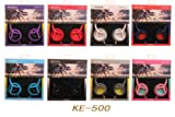 "KEEKA ""Comfort Ear"" Bright Color Casque Stereo Headphones - Grey (KE-500-2)"