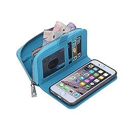 iPhone 6 Plus Wallet Case - Egrace Apple iPhone 6 Plus (5.5\