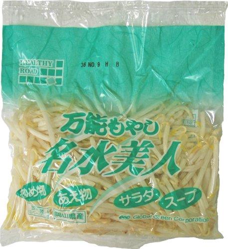 九州産 名水美人・名水もやし(もやし・モヤシ) 低カロリーでヘルシーフード! 1袋 九州の安心・安全な野菜! 【大分産】