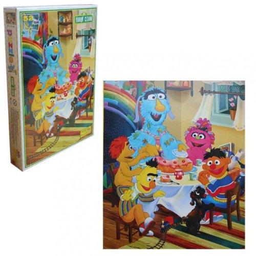 Sesamstrasse - Puzzle Reise Puzzle 52 Teile